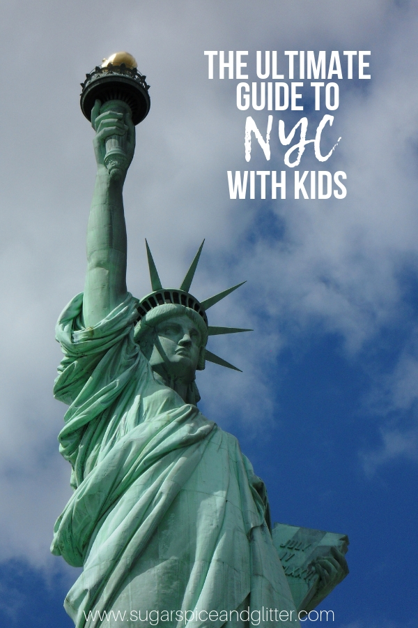 Everything you need to know to plan your NYC vacation with kids, from the best NYC things to do with kids, best NYC restaurants for kids, and where to stay in NYC with kids