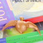 DIY Golden Snitch Fidget Spinner