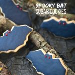 Bat Sugar Cookies