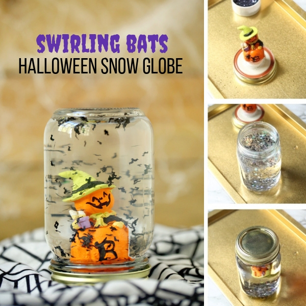 to make a snow globe for halloween and then dont forget to scroll down to grab our free printable instructions to make your own halloween snow globes