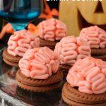 Panna Cotta Brain Cookies