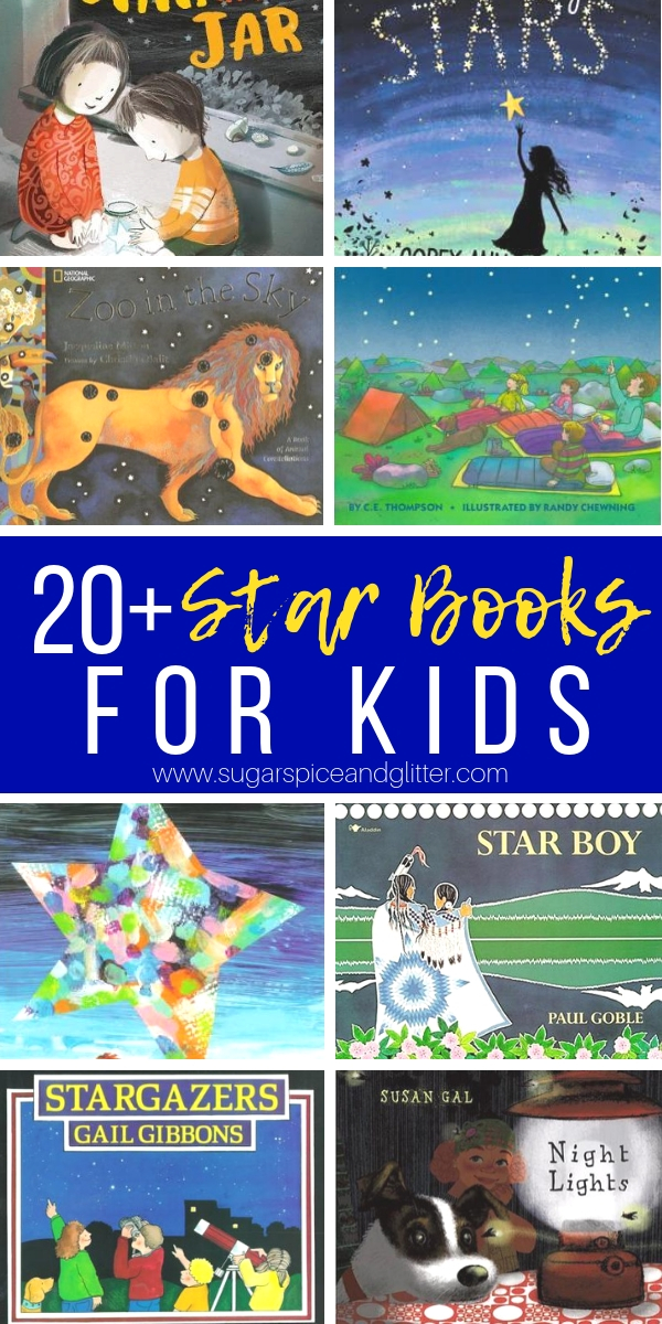 20+ of the best star books for kids recommended by a Montessori teacher and mom, these Space Books for Kids are all about the stars, offering non-fiction and multicultural works in the mix