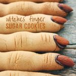 Witch Finger Sugar Cookies