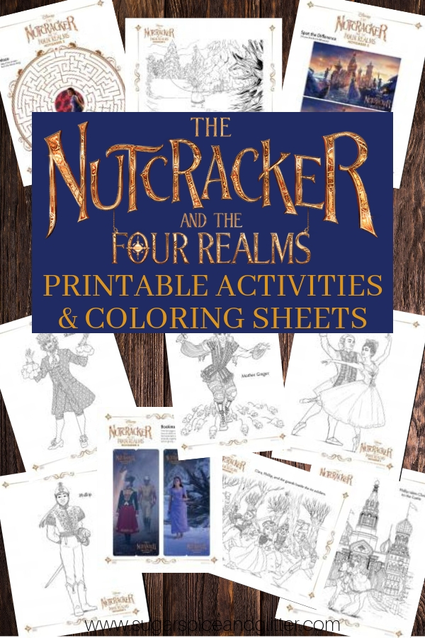 Grab our free Nutcracker coloring sheets for kids, a super easy Nutcracker craft for kids