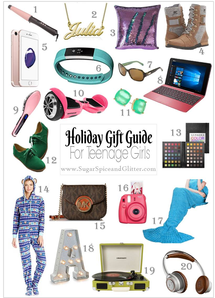 Gift Ideas For Teenage Girls Sugar Spice And Glitter