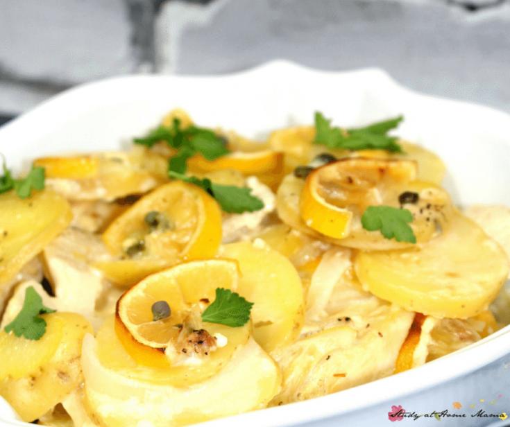 Healthy Chicken Piccata Recipe