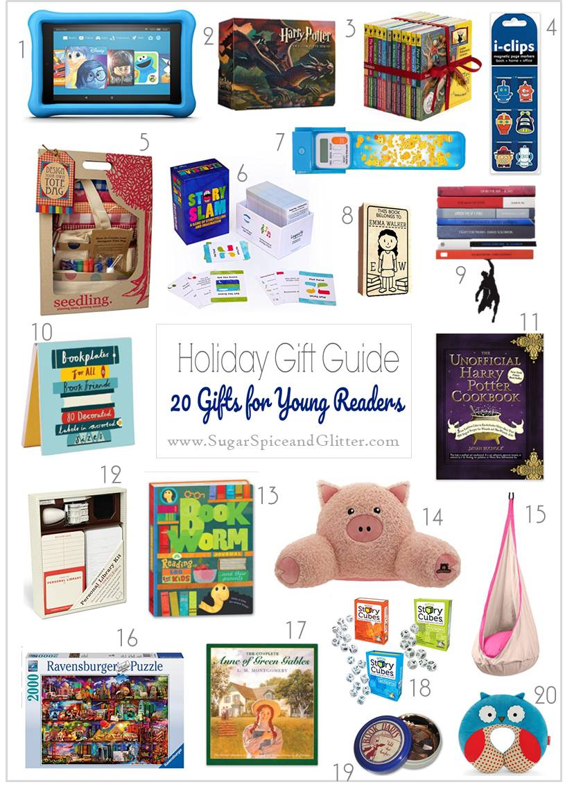 Amazon Gift Ideas for Young Readers - creative gift ideas for the readers on your shopping list