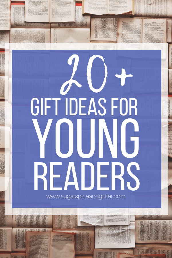 Gift Ideas for Young Readers, from awesome book collections to reading accessories and comfortable additions to your child's reading nook