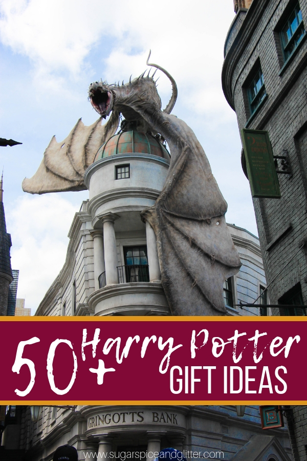 Over 50 Harry Potter Gift Ideas for any budget - from homemade Etsy options to Harry Potter Amazon Gifts, we've got you covered