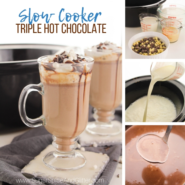 How to make slow cooker hot chocolate