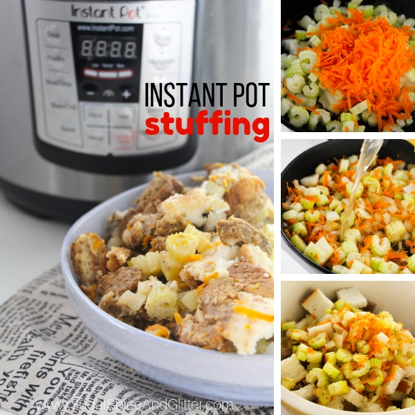 How to make stuffing in the instant pot