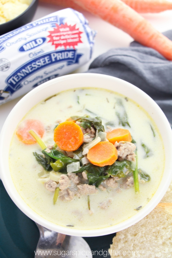 A creamy Italian soup that is comforting, nourishing and delicious