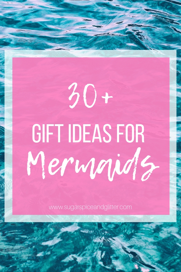 If you know a teen or adult who loves Mermaids, we have you covered with 30 unique mermaid gift ideas - handmade, homemade and store-bought