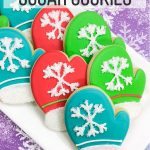 Cozy Winter Mitten Cookies