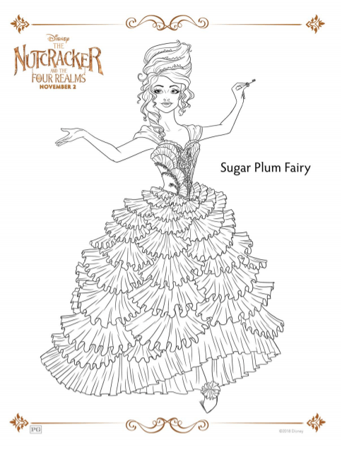 Nutcracker Coloring Sheets And Activity Pages Sugar Spice And