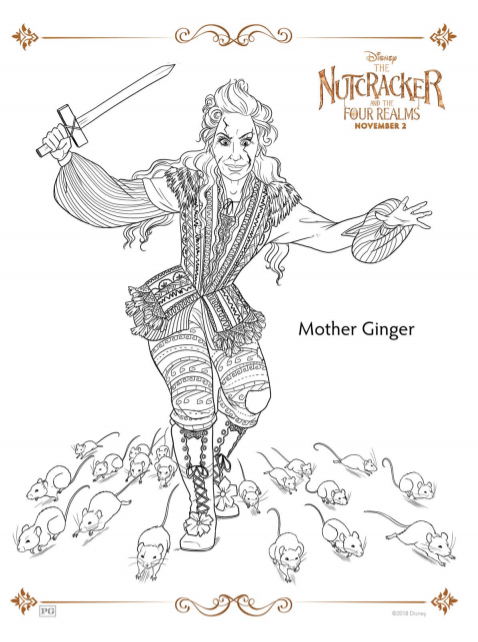 Nutcracker Coloring Sheets and Activity Pages ⋆ Sugar ...