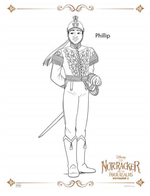 Nutcracker Coloring Sheets and