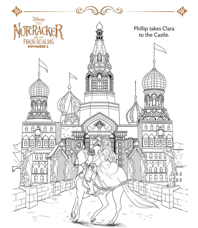 Nutcracker Coloring Sheets and Activity Pages ⋆ Sugar, Spice and ...