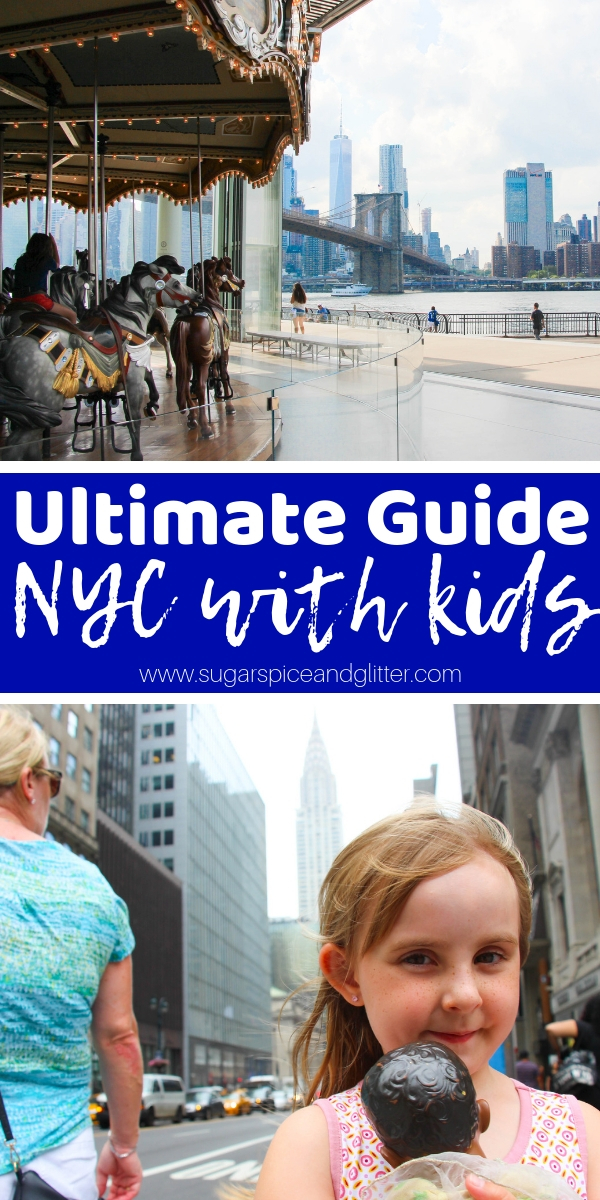 From What To Do With Kids in NYC, to Where to Eat in NYC with Kids, and Where to Stay - we have everything you need for planning the ultimate NYC Family Vacation in our Ultimate Guide to NYC with Kids!