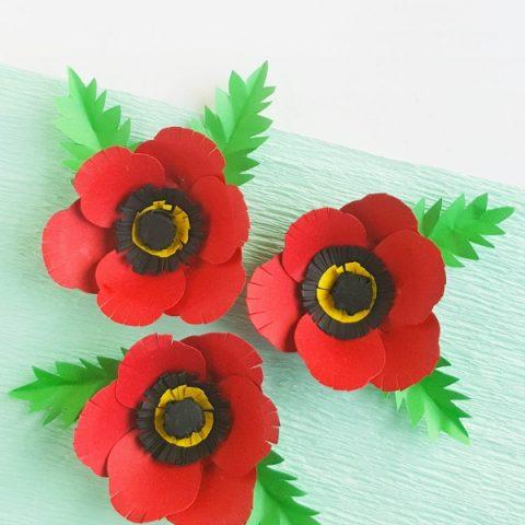 Paper Poppy Craft Sugar Spice And Glitter
