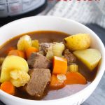 Pressure Cooker Beef Stew (with VIDEO)