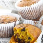 Pumpkin Chocolate Chip Muffins (with VIDEO)