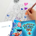 Ralph Breaks the Internet Coloring Sheets