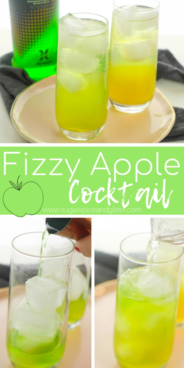 Our Fizzy Apple Cocktail recipe is a smash with Australians - come see what all the fuss is about! This vodka cocktail is a lighter alternative to an Appletini