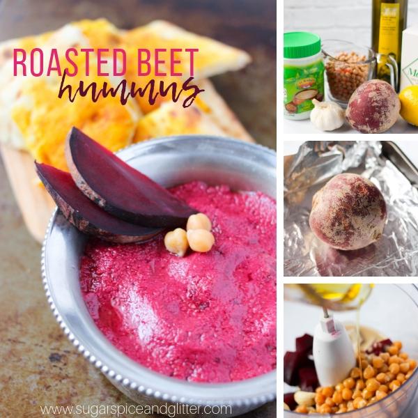 How to make roasted beet hummus