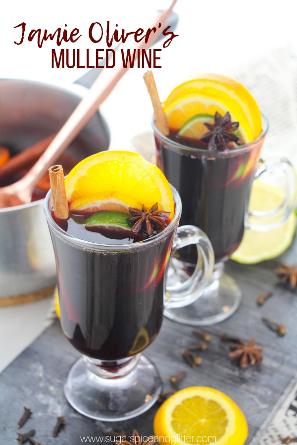 Simply the best and easiest Mulled Wine recipe out there, Jamie Oliver's Mulled wine is a Christmas classic!
