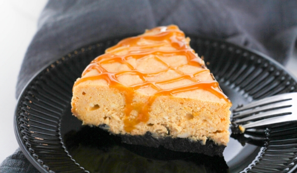 Skip the oven with this Instant Pot Pumpkin Cheesecake!