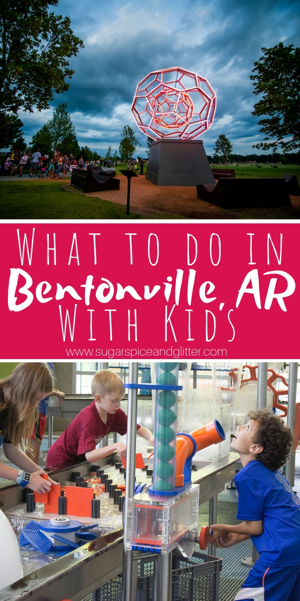 A charming gem in Northwest Arkansas, Bentonville is an up-and-coming tourism destination with a thriving artist community, great restaurants, and family-friendly attractions