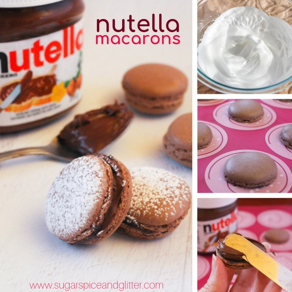 How to make Nutella Macarons