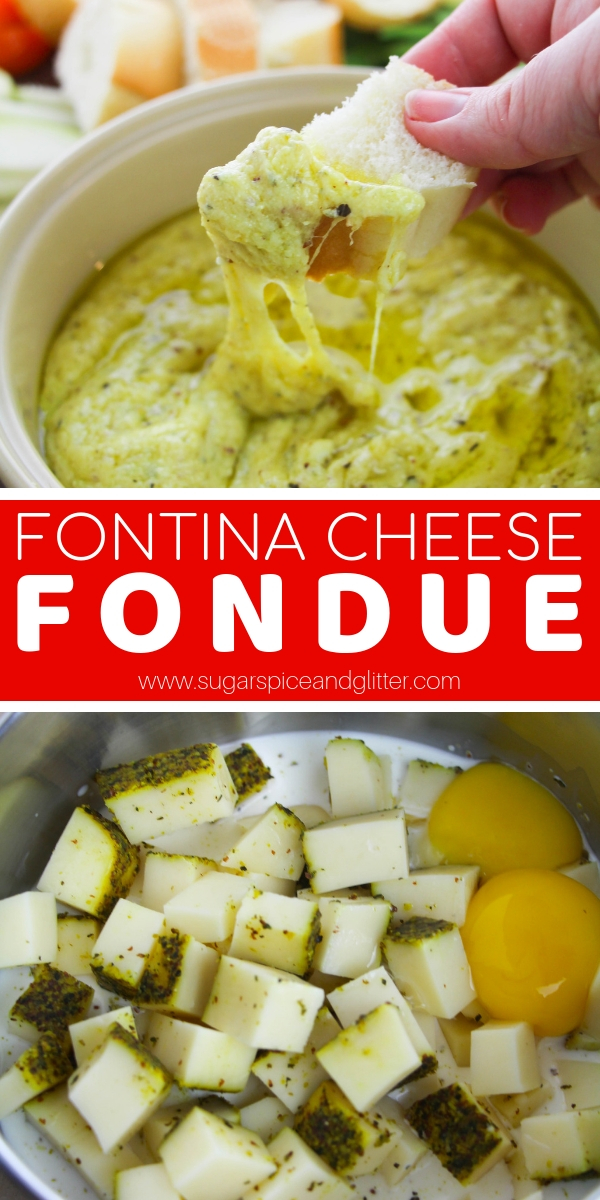 A decadent, melty cheese fondue recipe with just 4 ingredients - perfect for a romantic night in or special family night appetizer