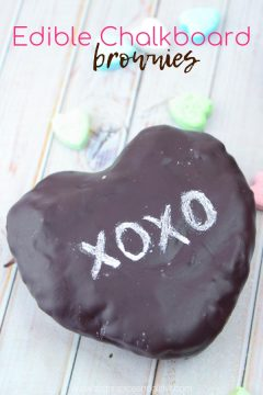 Edible Chalkboard Brownies