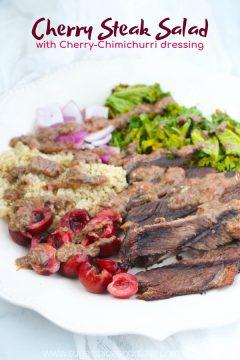 Cherry Steak Salad