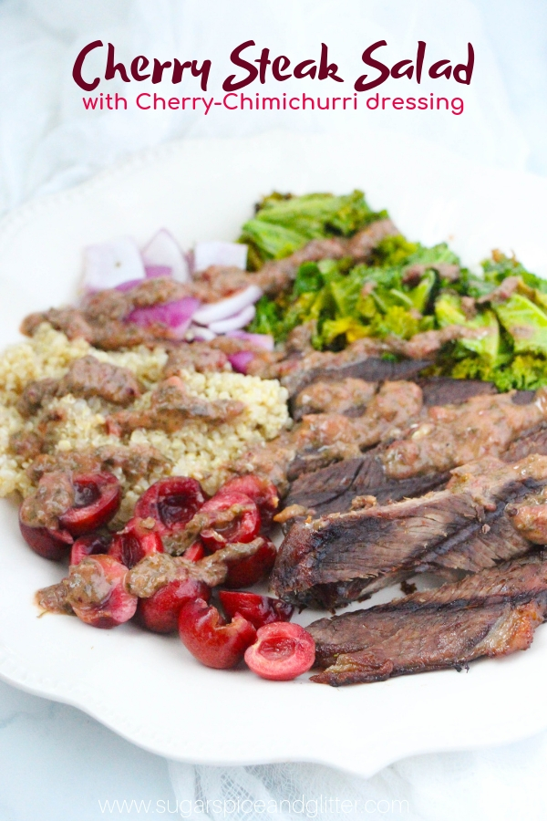 Cherry Steak Salad