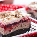 Cherry Chocolate Lasagna
