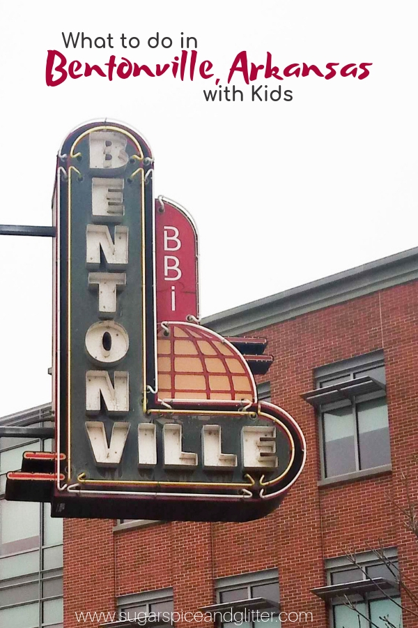 Bentonville is a charming town in Northwest Arkansas that is becoming a popular tourism destination thanks to it's art and foodie scene