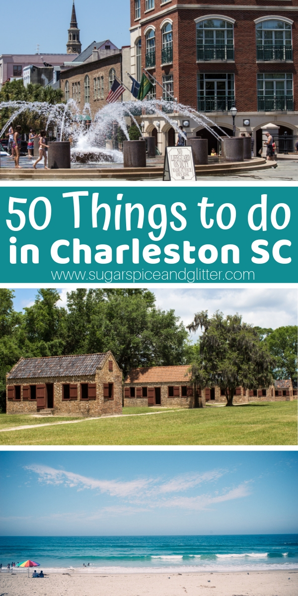 If you are taking a family vacation to Charleston SC, we have 50 awesome things to do with the whole family
