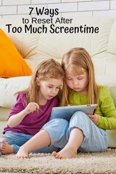 7 Ways to Reset After Too Much Screen Time