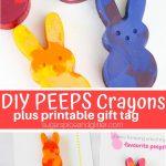 DIY PEEPS Crayons
