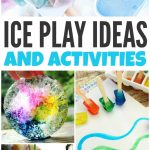 Summer Sensory Play with Ice
