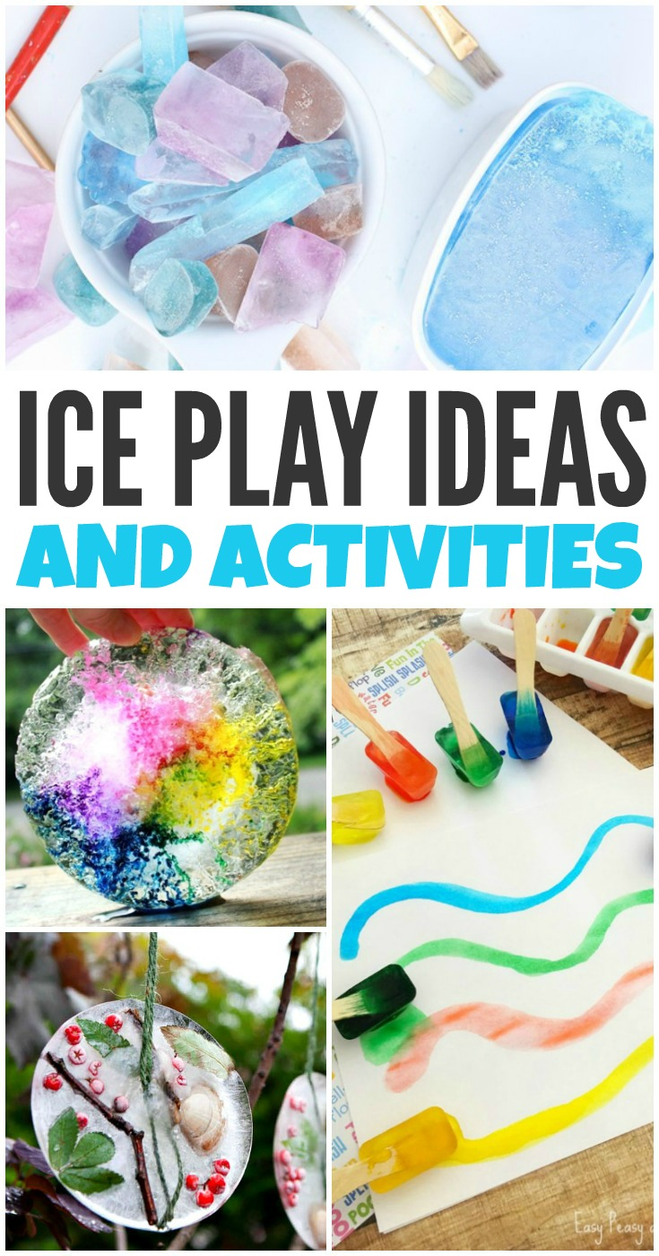 Ice Play Ideas for a cool take on summer sensory play that won't break the bank