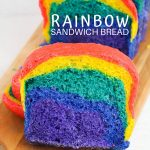 Homemade Rainbow Bread