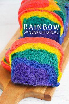 Homemade Rainbow Bread