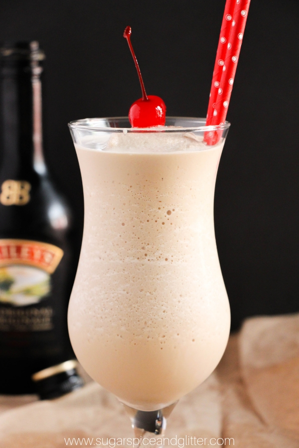 Bailey's Frozen Coffee Cocktail, the ultimate in grown-up indulgence