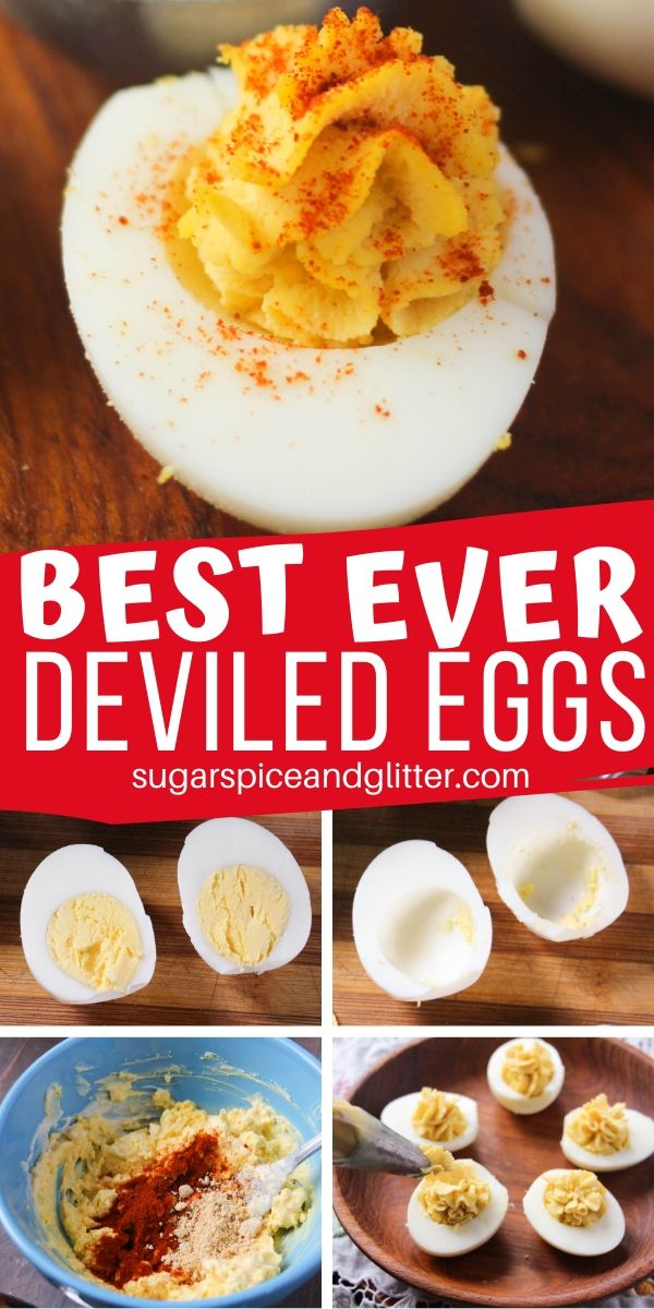 Everything you need to know about making the best ever Deviled Eggs - from tips on easily removing the shell and lots of fun variations for your holiday table, BBQ, or brunch
