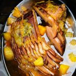 Mango Brown Sugar Crockpot Spiral Ham
