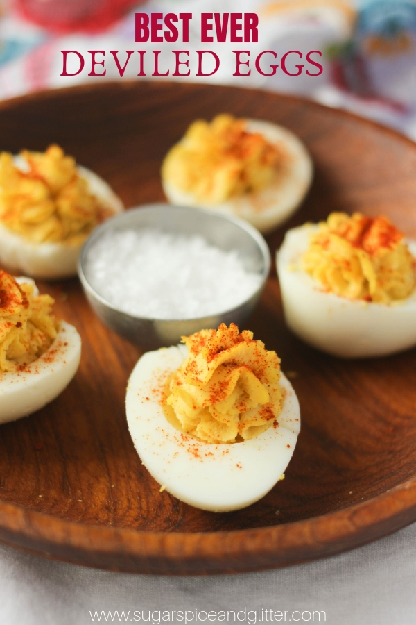 Deviled Eggs are a classic holiday appetizer, whether we're talking Easter, Thanksgiving, Christmas - or even summer BBQs! Check out our tips for the best deviled eggs you will ever make